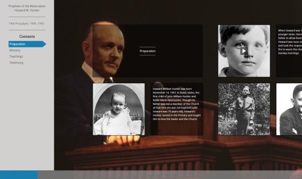 Online Exhibit on the Life of President Howard W. Hunter