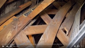 VIDEO Tour of the Mormon Tabernacle Attic