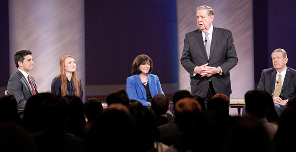 Did You Miss Elder Holland's LDS Face-to-Face Event?