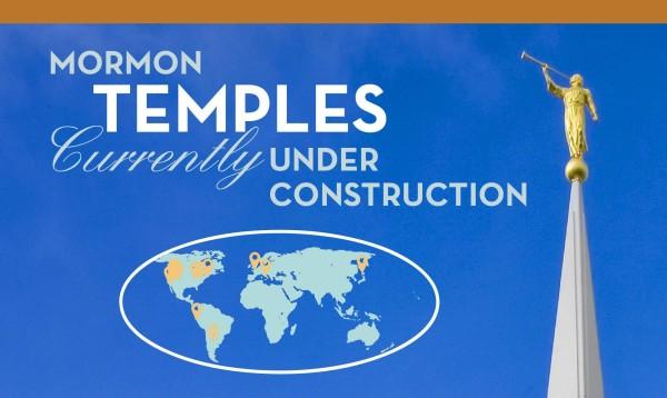 Infographic: Mormon Temples Under Construction