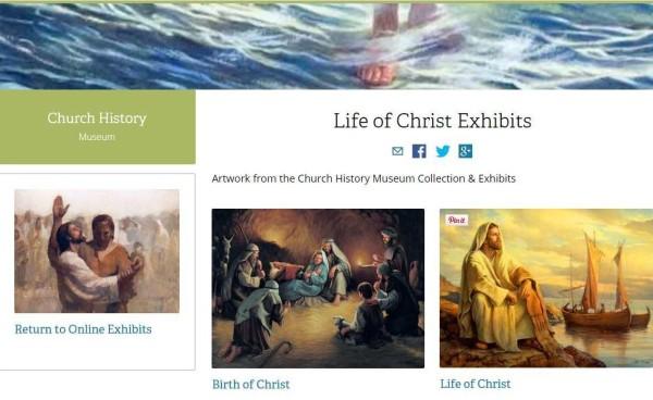 Life of Christ Exhibits Online