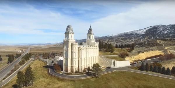 Aerial Videos of Utah Temples