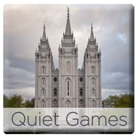 Quiet Games for LDS Kids Mobile App