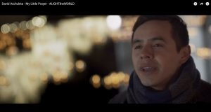"David Archuleta's ""My Little Prayer"" #LIGHTtheWORLD Video"