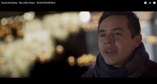 "David Archuleta Releases ""My Little Prayer"" #LIGHTtheWORLD Video"