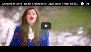 Music Video: December Song by Nadia Khristean #LIGHTtheWORLD