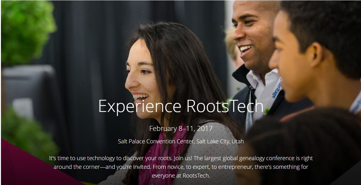 Experience RootsTech 2017