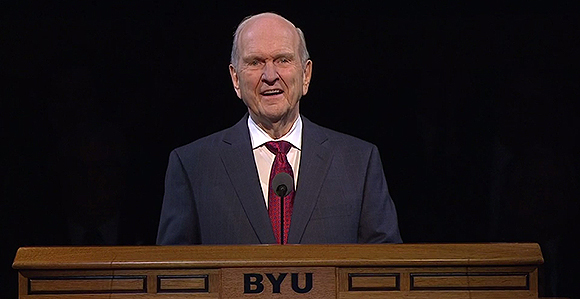President Nelson Asks Young Adults to Study About Jesus