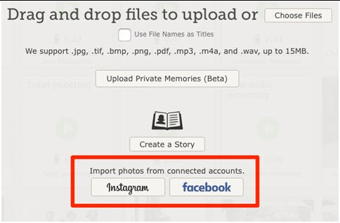 Importing Pictures from Facebook & Instagram to FamilySearch.org