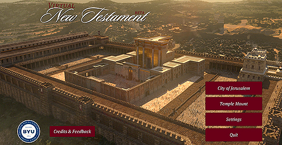 Visit Jerusalem with Virtual New Testament Mobile App