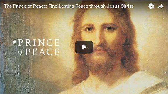 Find Peace through Faith in Jesus Christ, the #PRINCEofPEACE