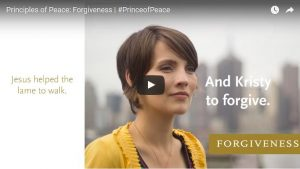 Find Peace through Forgiveness, #PRINCEofPEACE