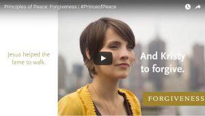 Find Peace through Forgiveness, #PRINCEofPEACE