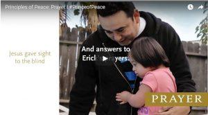Find Peace through Prayer, #PRINCEofPEACE