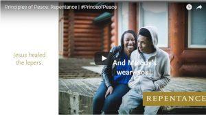 Find Peace through Repentance, #PRINCEofPEACE