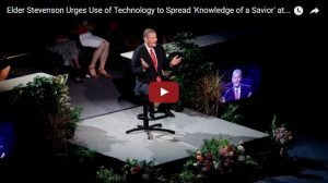 Elder Stevenson Urges Use of Technology to Spread Gospel