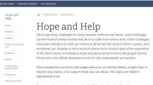 HopeandHelp.lds.org