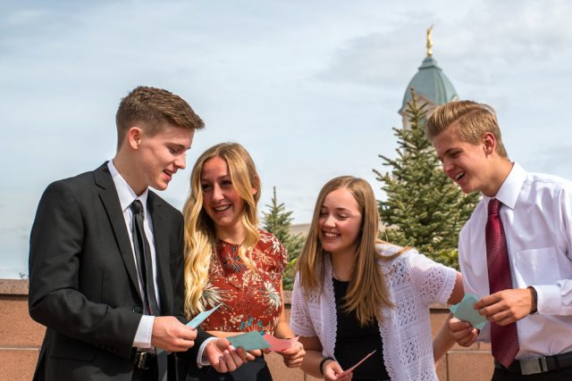 LDS Youth Leading the Way in Temple Work