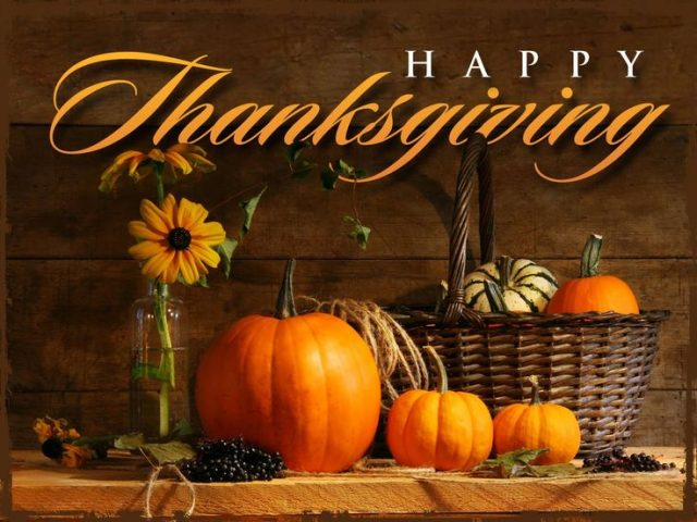 Thanksgiving Day: Gratitude 2019