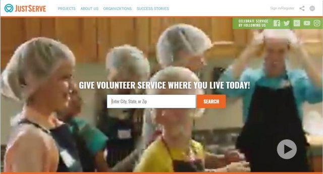 JustServe.org Helps You Find Community Service Opportunities