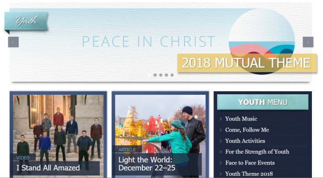 lds-youth-website