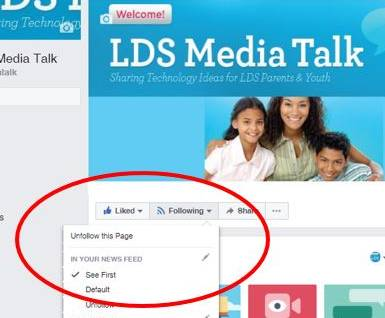 How to Follow LDS Media Talk on Facebook