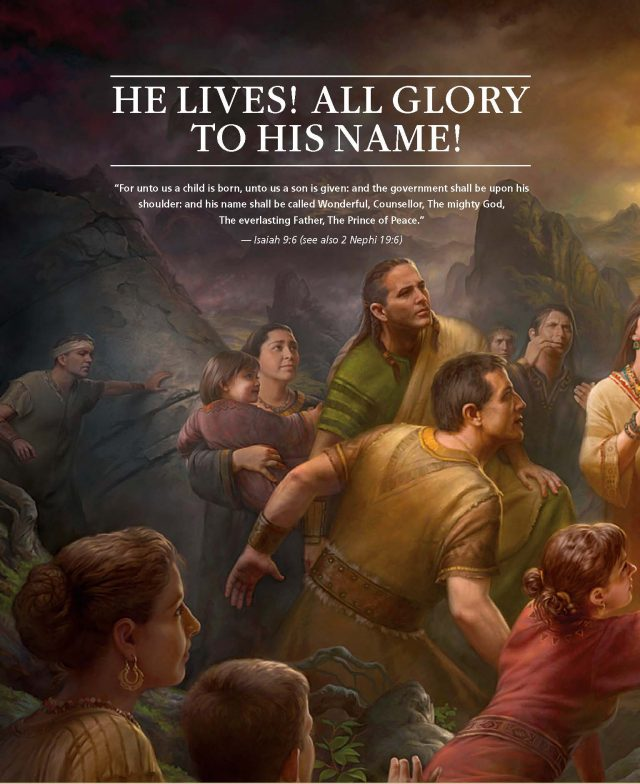 LDS Ensign Provides Easter Artwork of Jesus Christ