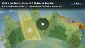 Video: What is the Book of Mormon? A 60-Second Overview