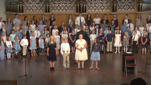 "Music Video: ""My Heavenly Father Loves Me"" by Rexburg Children's Choir"