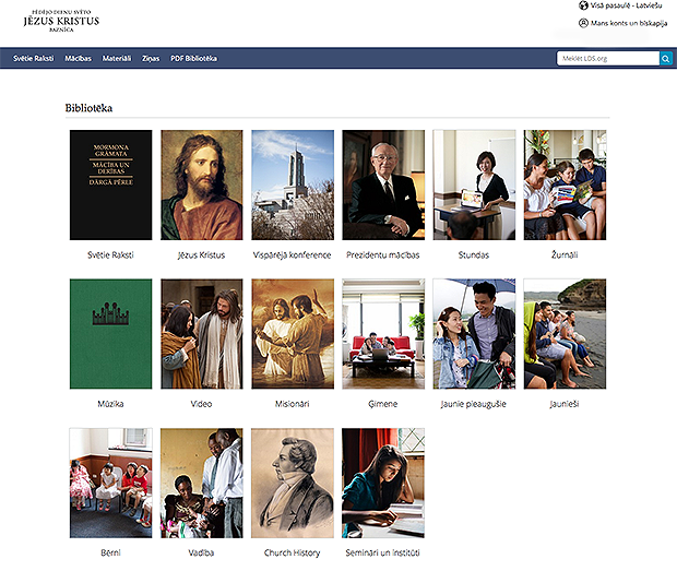 100+ Languages on Redesigned LDS org Language Pages | LDS365