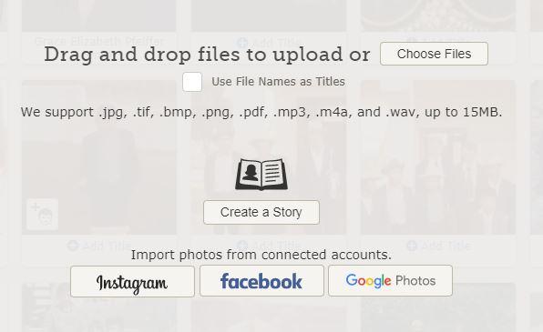 how to import photos from google drive