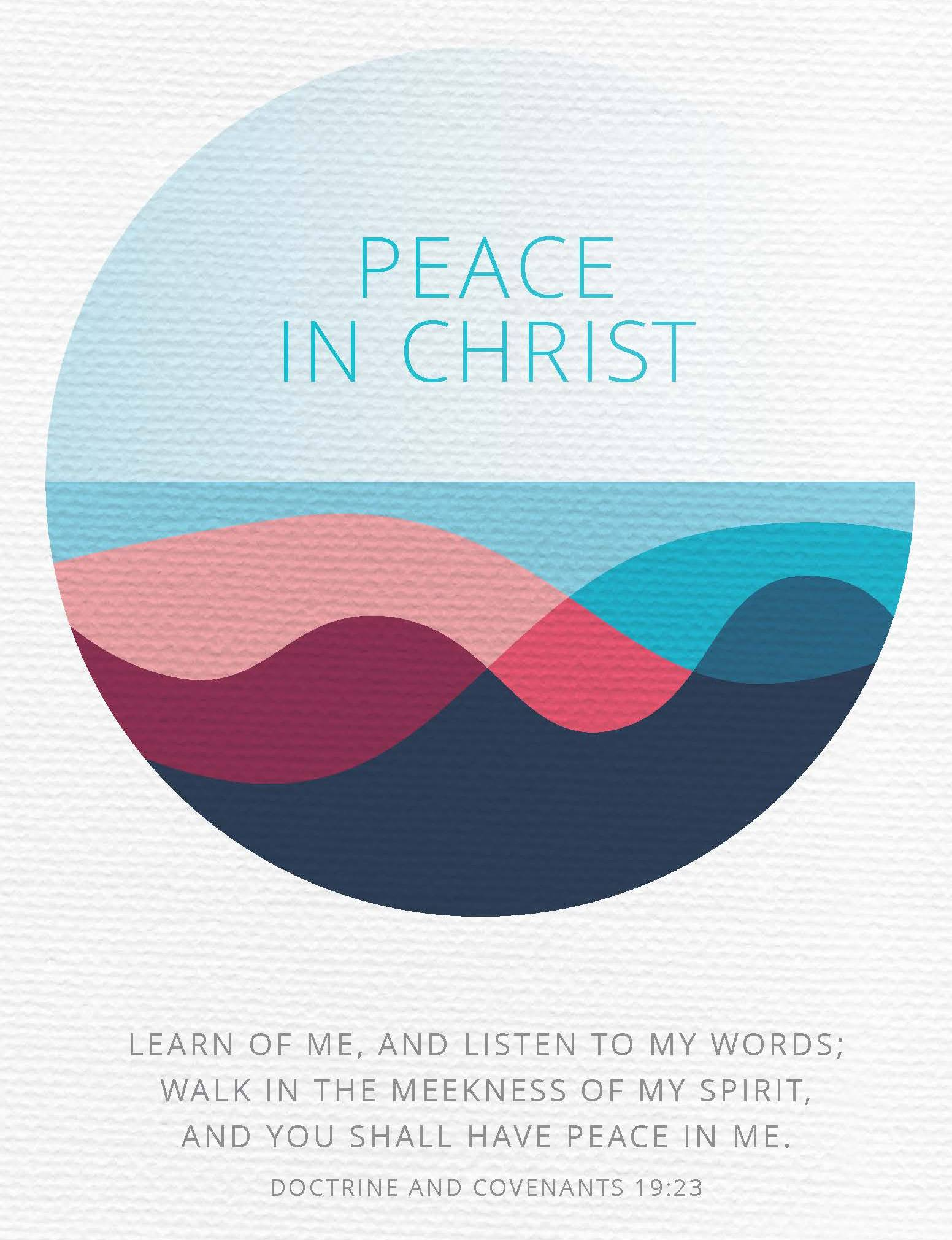 Resources for 2018 Mutual Theme Now Online: Peace in Christ
