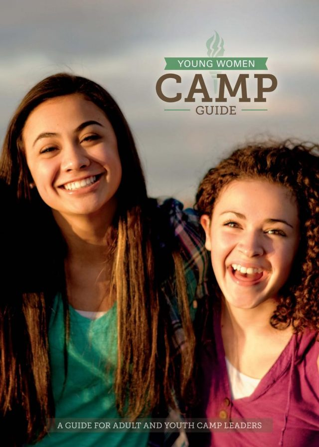 It's just a graphic of Witty Lds Girls Camp