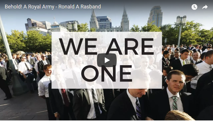 LDS Melchizedek Priesthood Quorums: Behold! A Royal Army, Elder Ronald A Rasband