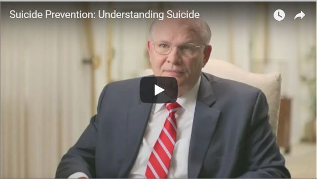 New Videos Added to LDS Suicide Prevention Site
