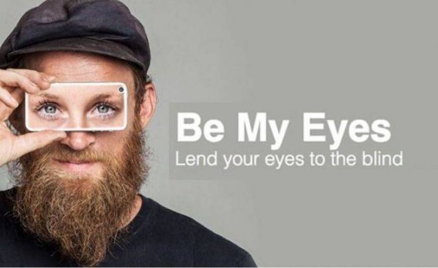 Be My Eyes Mobile App Brings Sight to Blind & Low Vision People