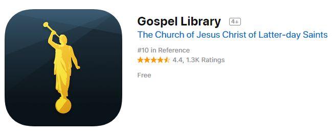 Gospel Library iOS 5.0