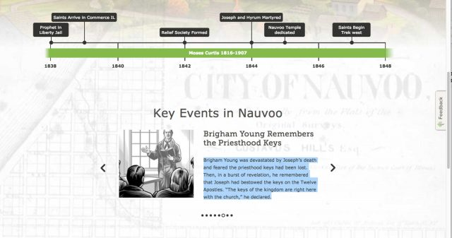 Do You Have Ancestors Connected to Nauvoo?