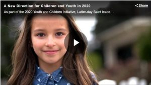 Learn About What's Coming for LDS Children and Youth in 2020