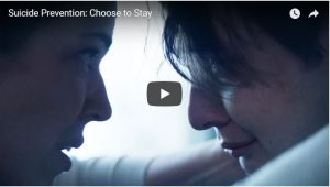 "Video ""Choose to Stay"" Gives Hope to Those Considering Suicide"