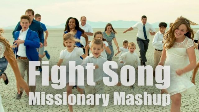 Music Video: Fight Song LDS Missionary Mashup