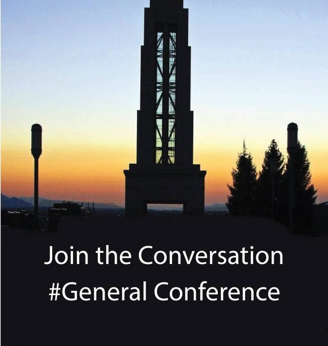 Hashtags for General Conference
