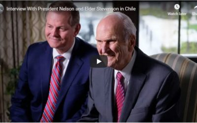 President Nelson Shares Insights of Global Ministry, Says Process of Church Restoration Continues