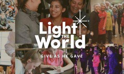 #LightTheWorld Christmas 2018