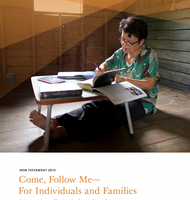 Implementation of Come, Follow Me for Individuals and Families, Sunday School, Primary