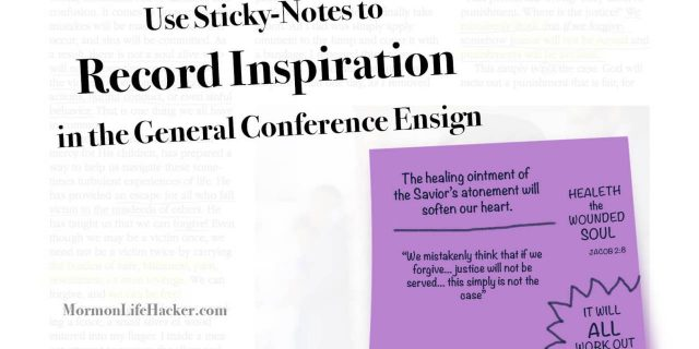 Ideas on Note-taking for General Conference