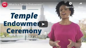 Video About the Latter-day Saint Temple Endowment