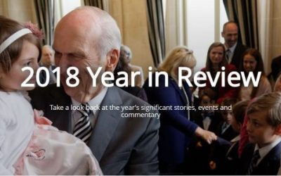 2018 Year in Review: Church of Jesus Christ of Latter-day Saints