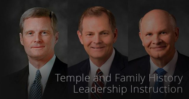 Ward Temple and Family History Work