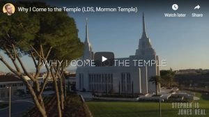 Video: Why I Come to the Latter-day Saint Temple